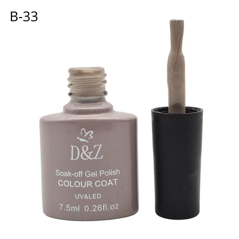 ESMALTE EM GEL D&Z - CINZA-B33