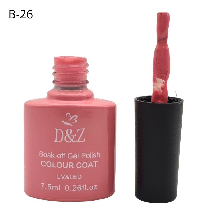 ESMALTE EM GEL D&Z - NUDE-B26