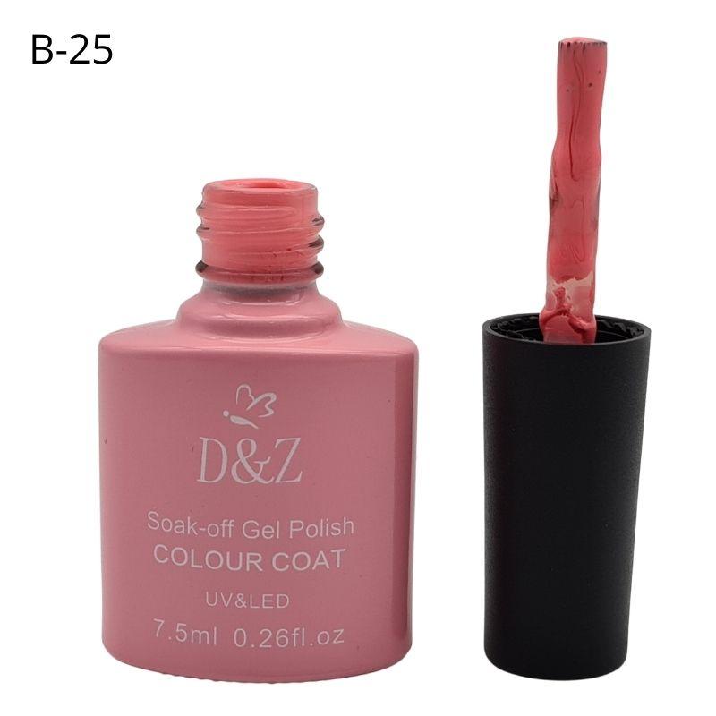 ESMALTE EM GEL D&Z - ROSA BABY-B25