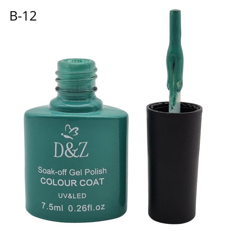 ESMALTE EM GEL D&Z - VERDE ÁGUA-B12