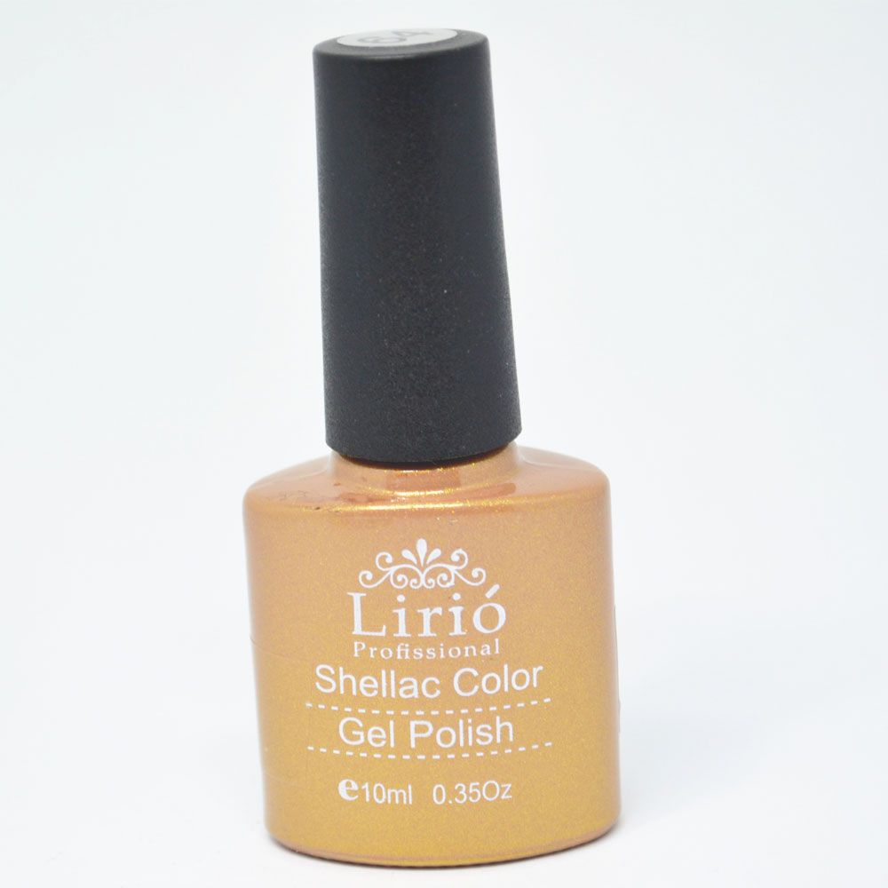 Esmalte em Gel Dourado Ref. 127 10ml - Lirió