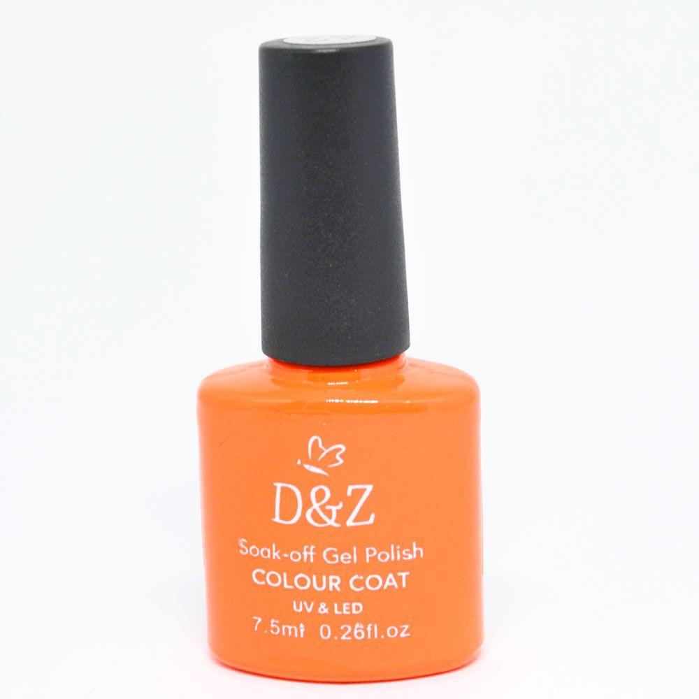 Esmalte em Gel Laranja Ref. 225 7,5 ml - D&Z