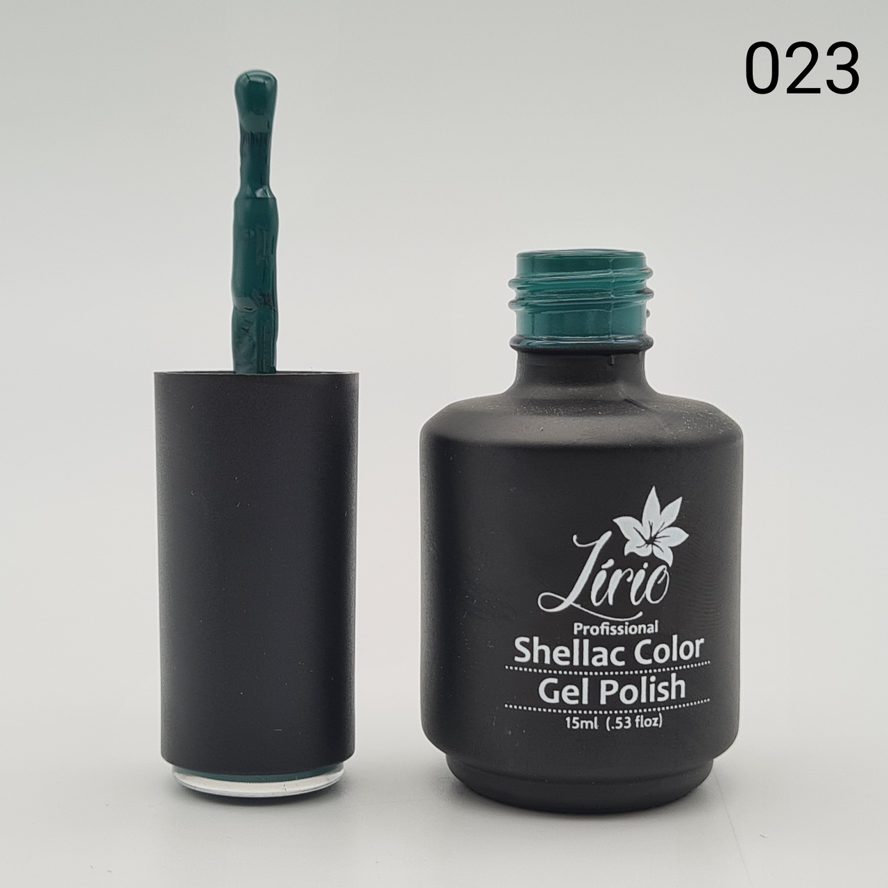 Esmalte em Gel Lírio - Verde Escuro