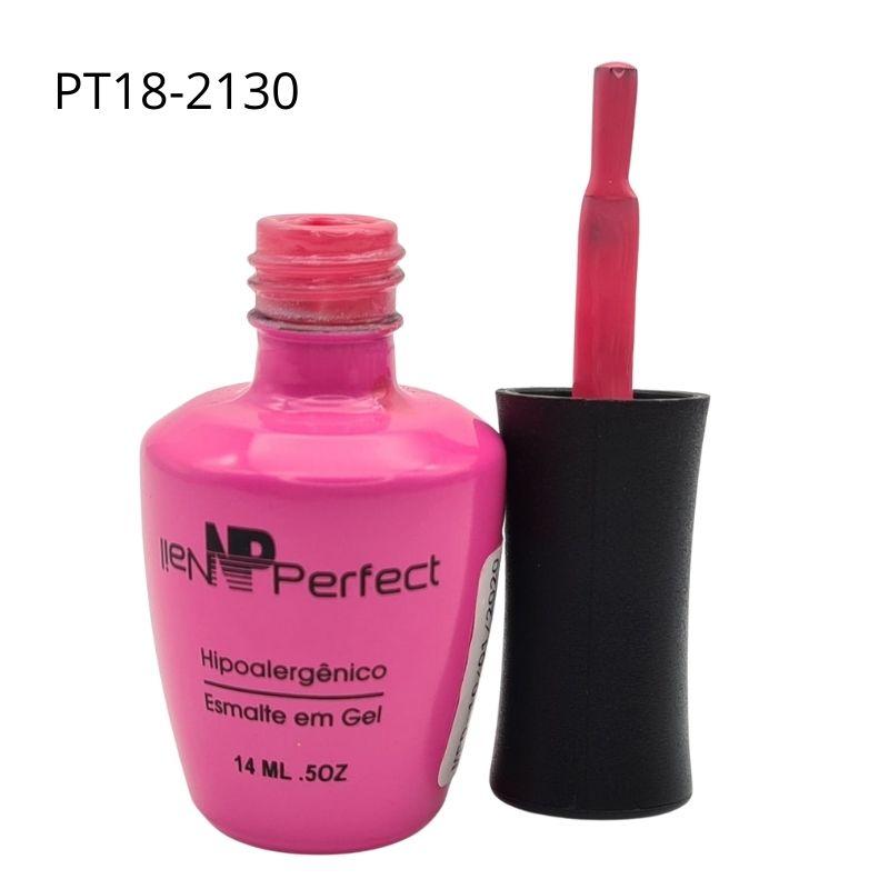 ESMALTE EM GEL NAIL PERFECT ROSA CHICLETE - REF.PT18-2120