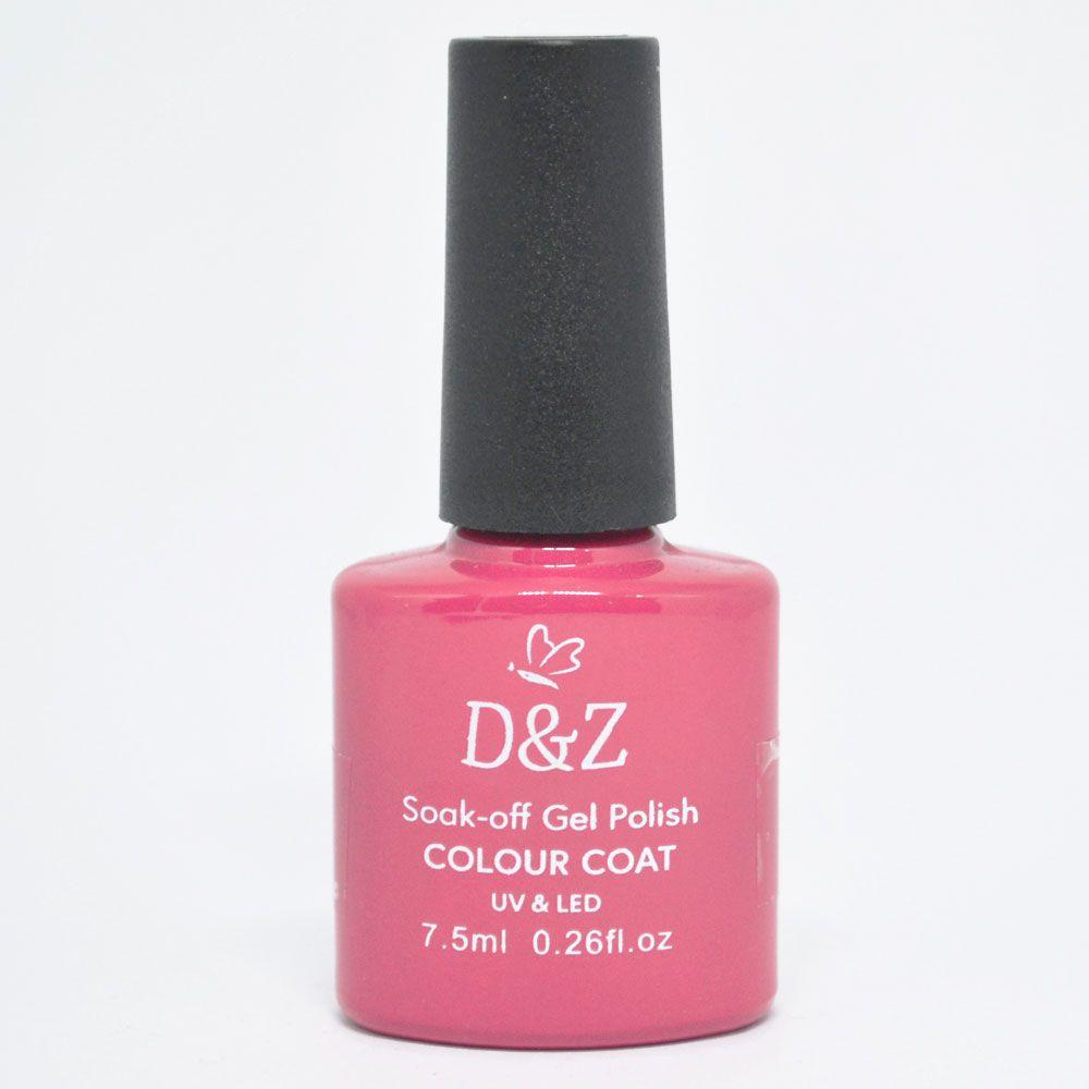 Esmalte em Gel Rosa Ref. 200 7,5ml - D&Z