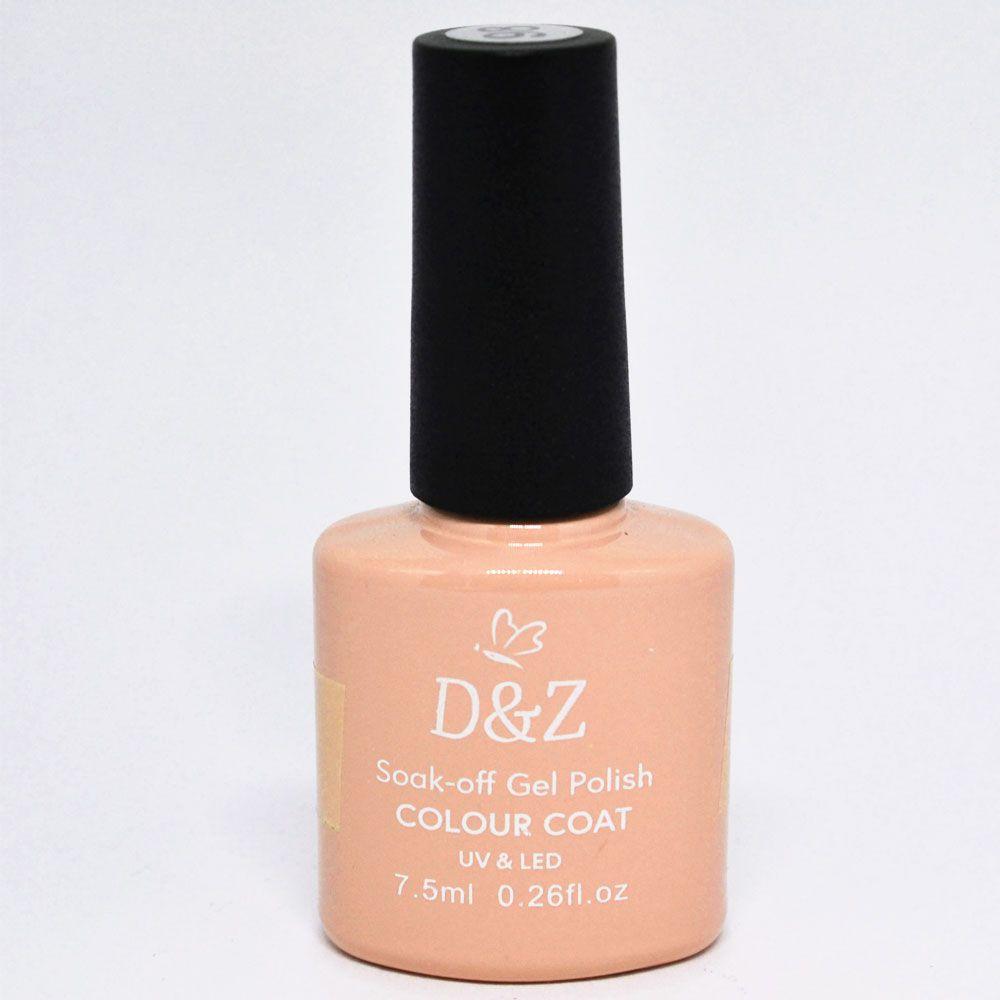Esmalte em Gel Rosa Ref. 205 7,5 ml - D&Z