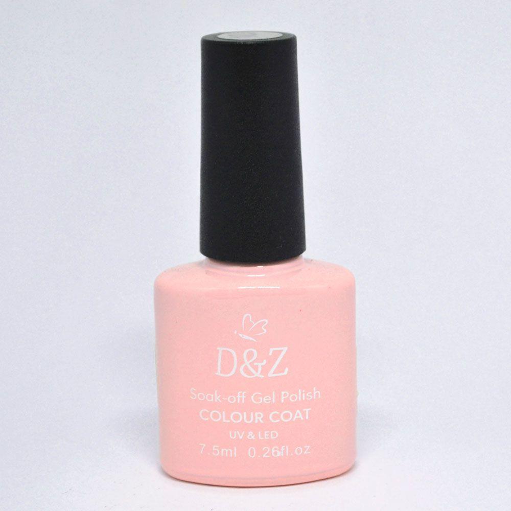 Esmalte em Gel Rosa Ref. 207 7,5 ml - D&Z