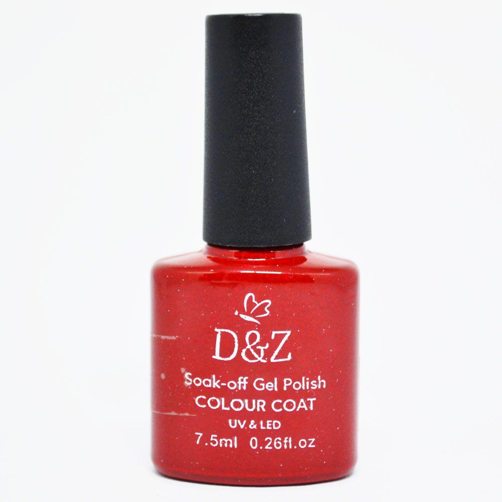 Esmalte em Gel Vermelho Ref. 210 7,5 ml - D&Z