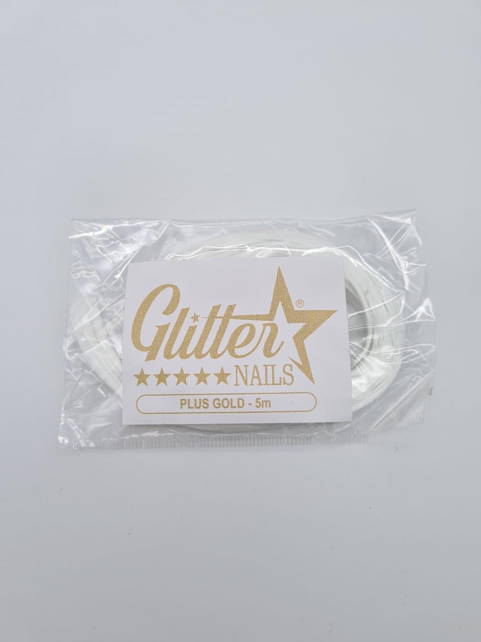 Fibra de Vidro 5m - Glitter Nails Plus Gold
