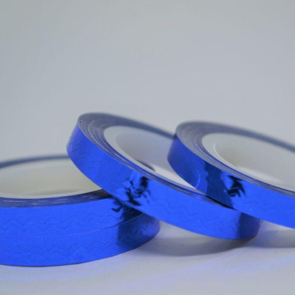 Fitilho Azul Espelhado 20 m - Mundo das Unhas by Suzana Depes
