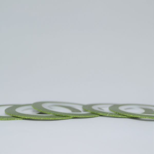 Fitilho Verde Glitter P 20 m - Mundo das Unhas by Suzana Depes