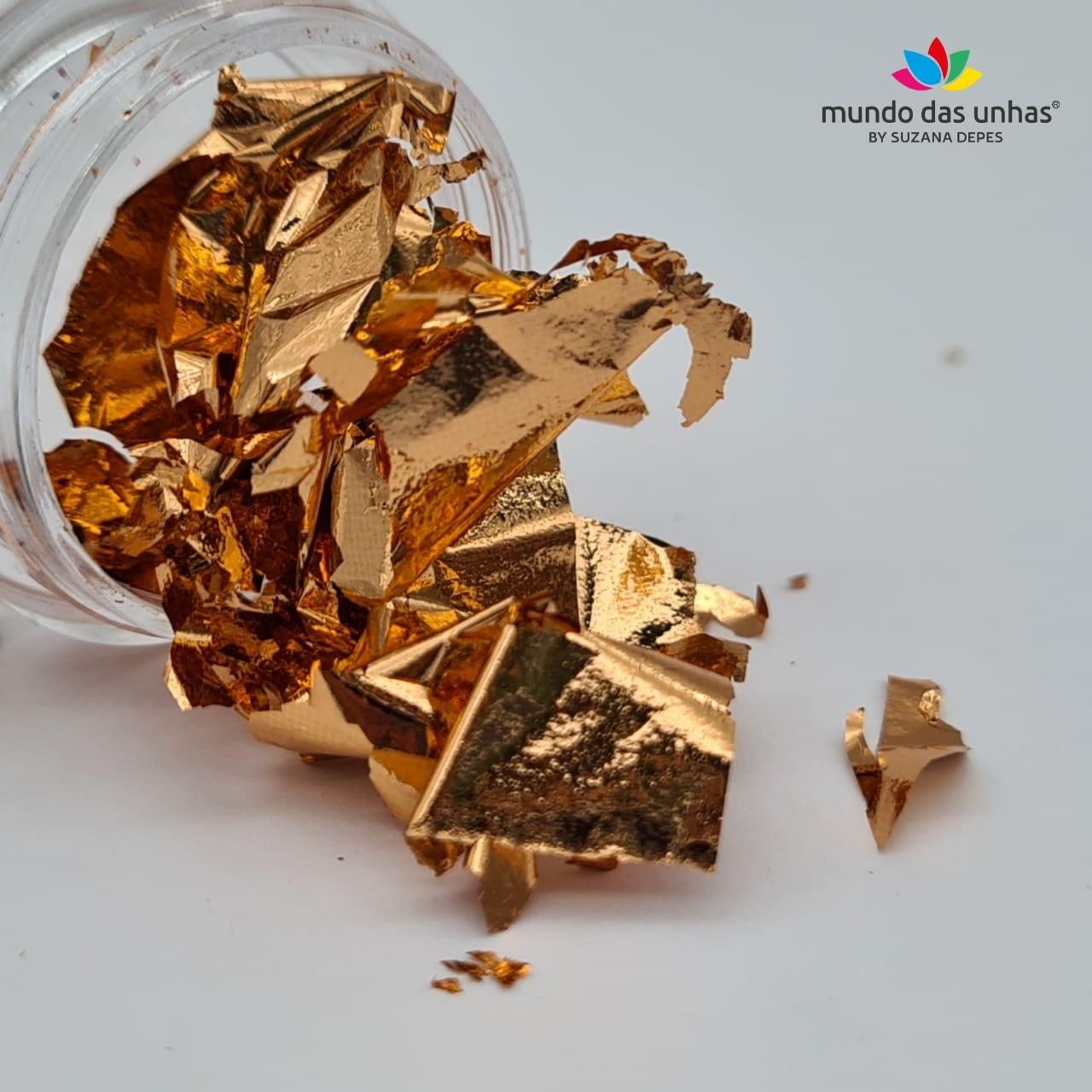 Folha de Ouro - Dourada
