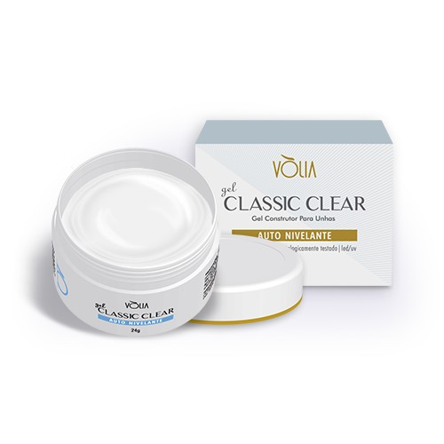 Gel Classic Clear Vòlia - 24g