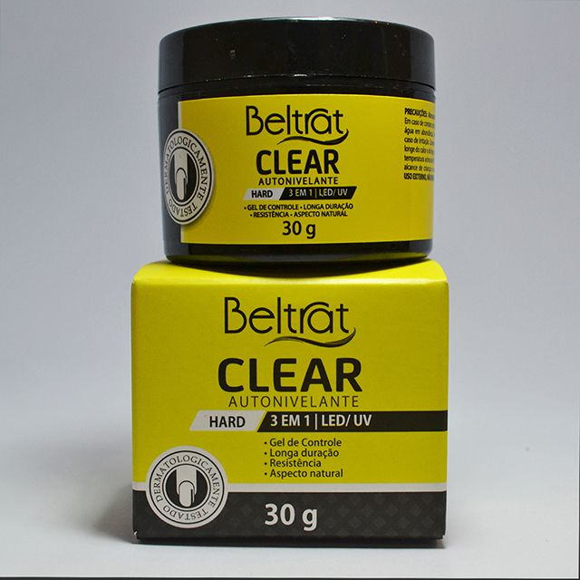 Gel Clear Transparente para unhas 30g - Beltrat