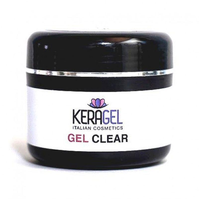 Gel Clear Transparente para Unhas 30gr - Keragel