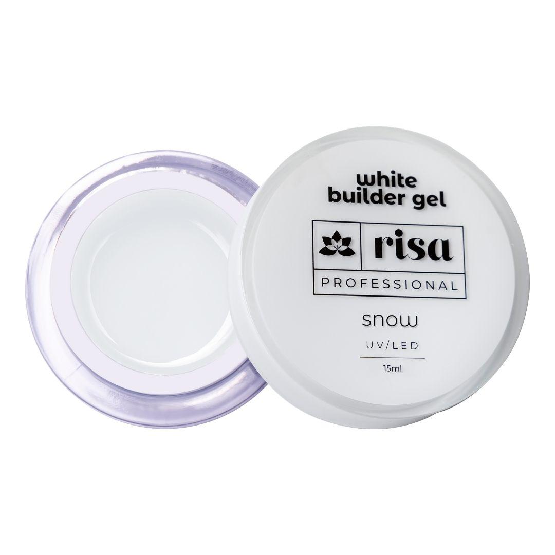Gel Construtor Branco Risa - 30ml - SNOW