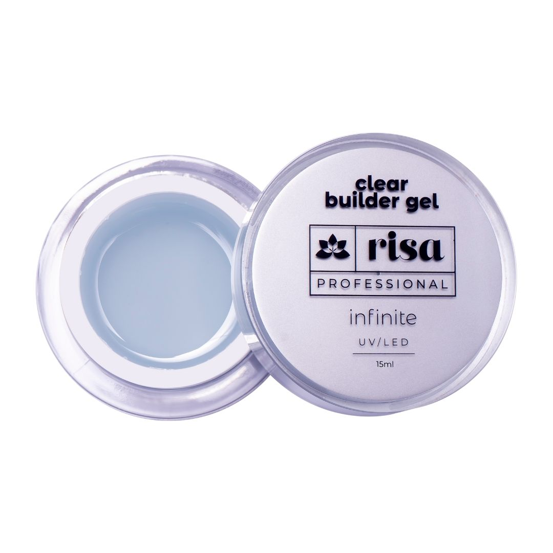 Gel Construtor Clear Risa - 30ml - INFINITE