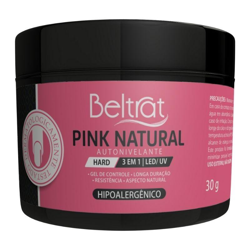 GEL PINK NATURAL HARD BELTRAT - 30G
