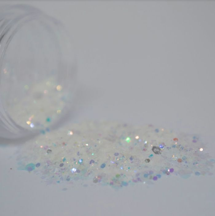 Glitter Branco Diamante - Glitter Blendz