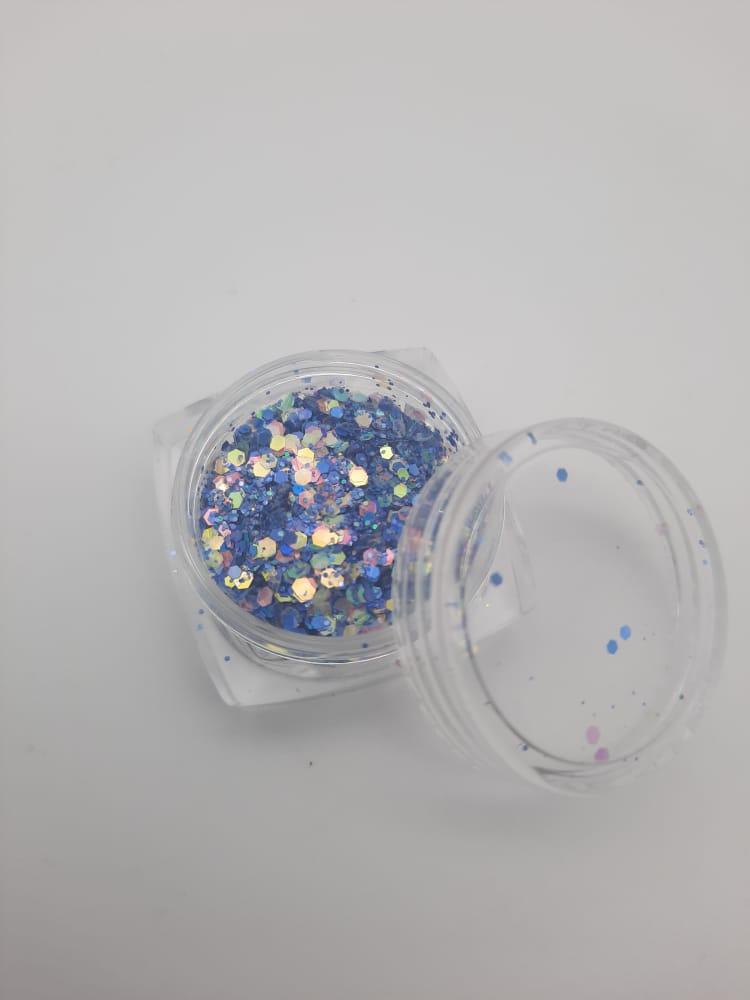 Glitter flocado