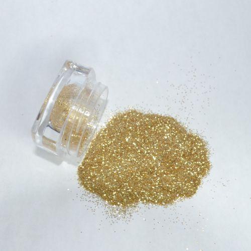 Glitter Dourado Fino - Glitter Nails