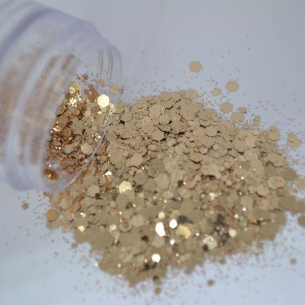 Glitter Dusty Gold - Glitter Blendz