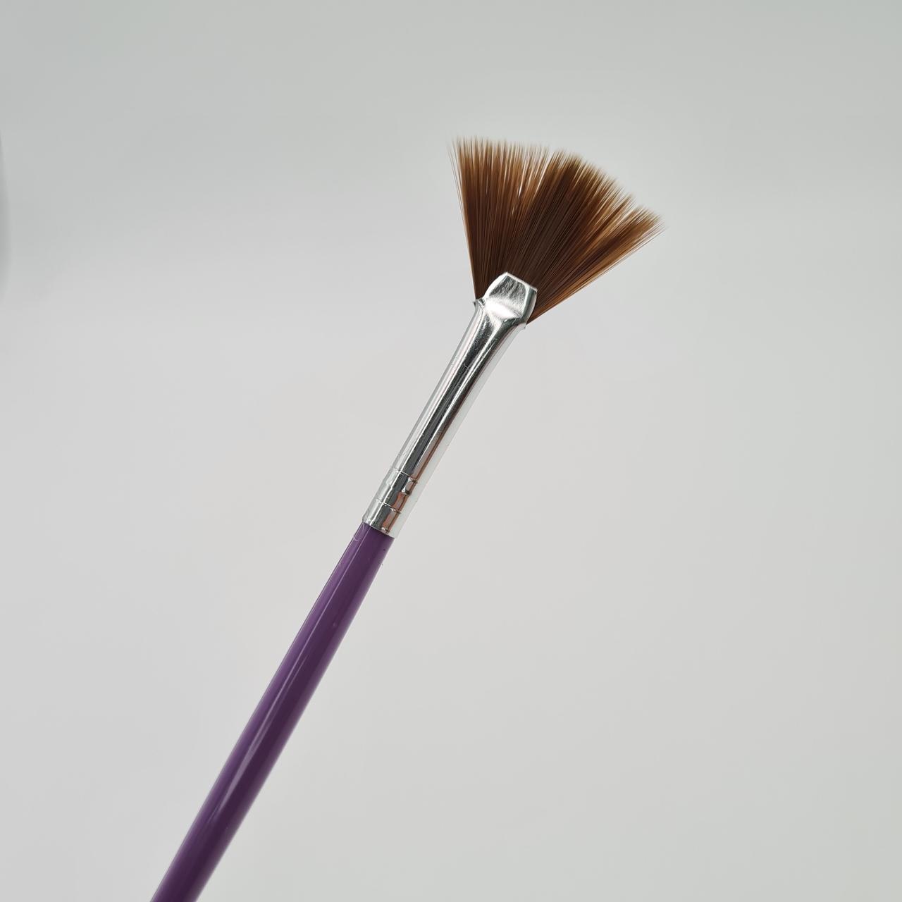 Kit Completo Pincel para Gel - Fan Nails