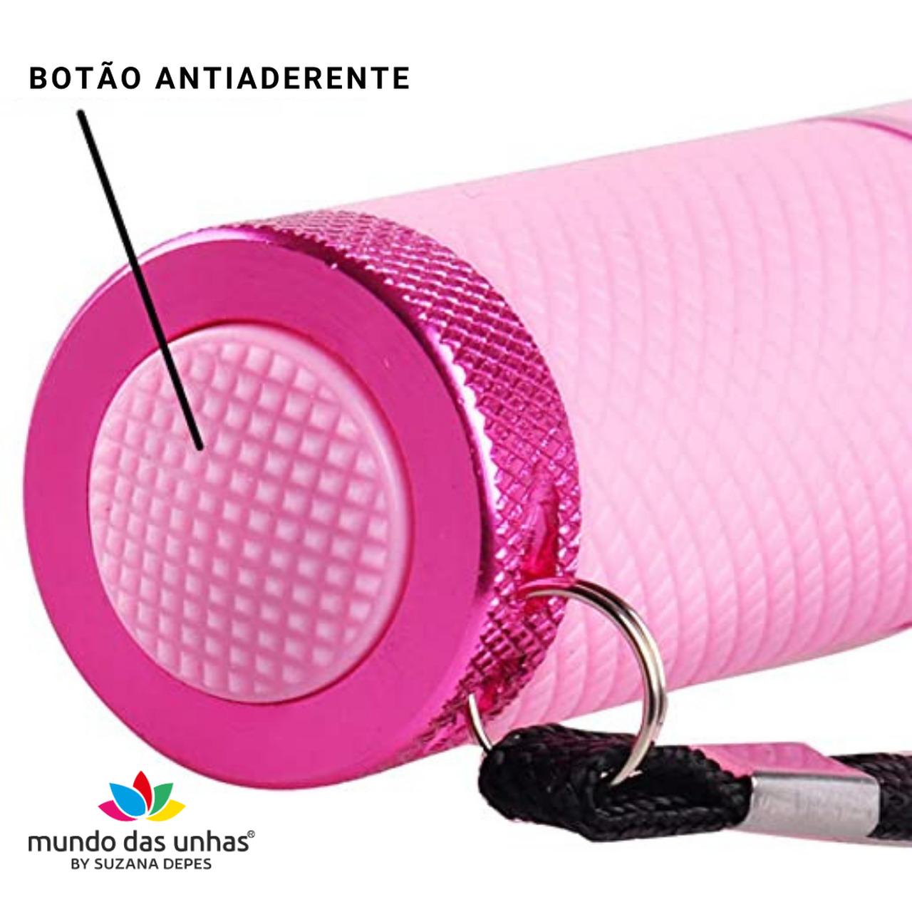 Lanterna de LED para secagem de unhas - AZUL