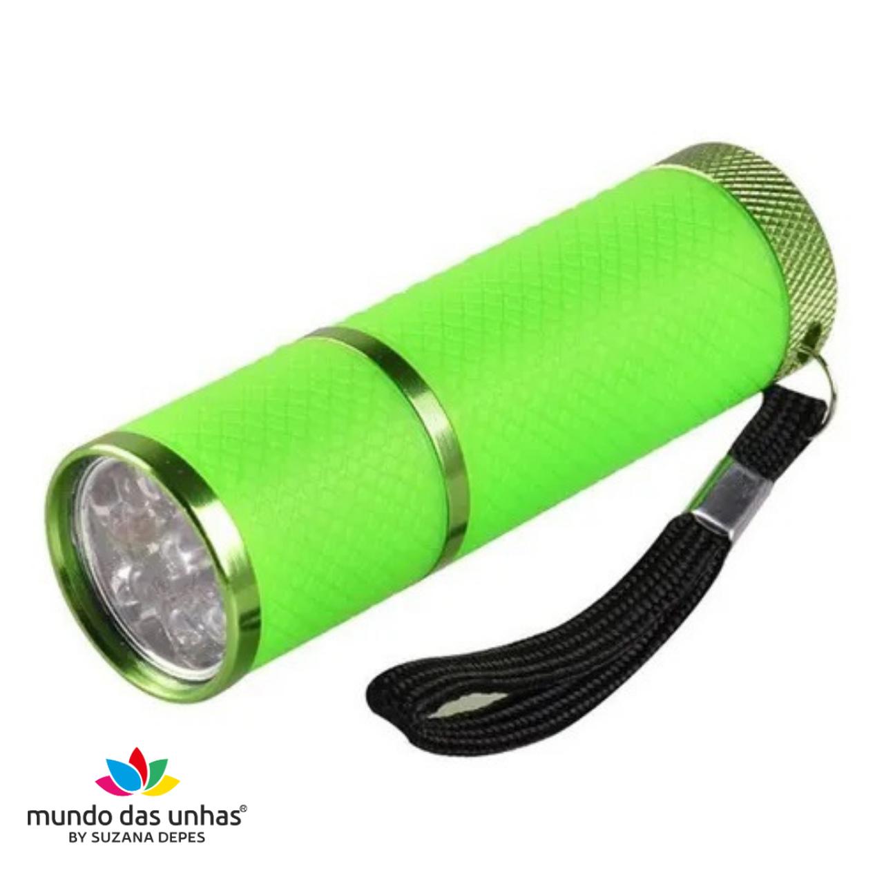 Lanterna de LED para secagem de unhas - VERDE