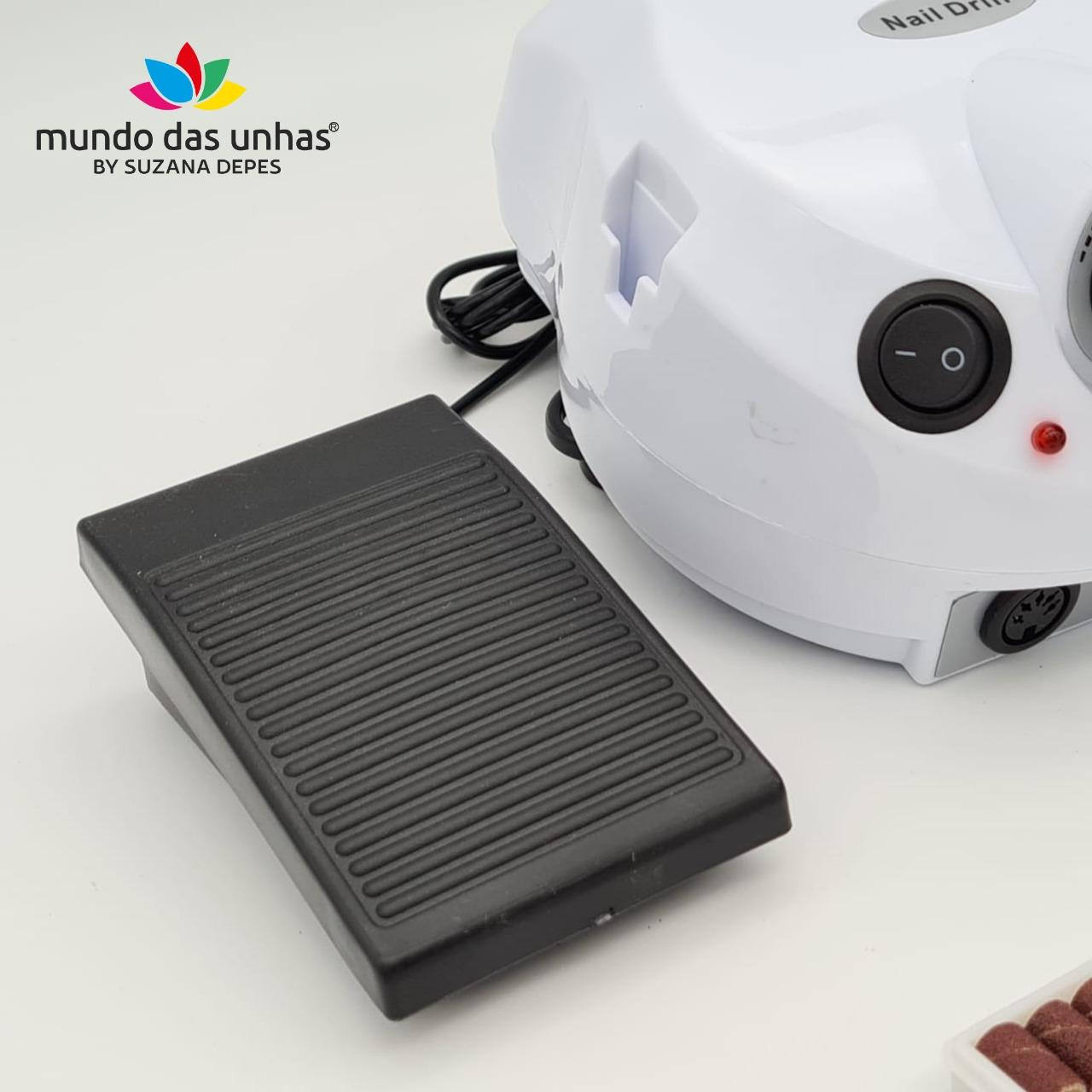 Lixadeira Elétrica Motor Porquinho 30.000 RPM - Nail Master