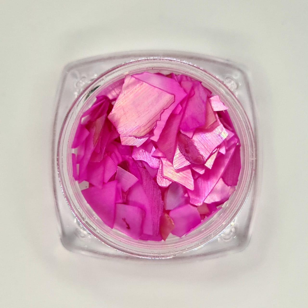 Madrepérola grande para decoração - Pink