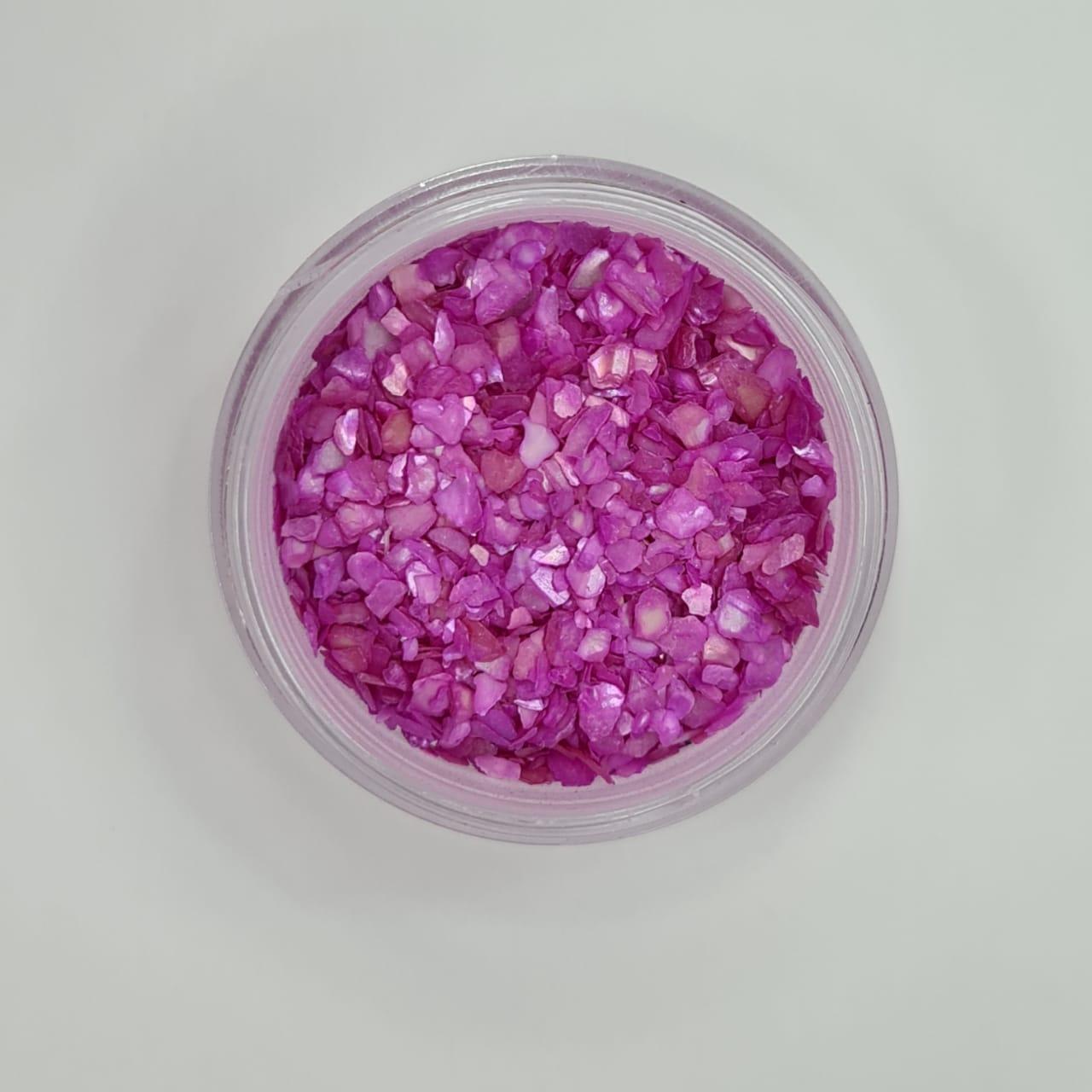 Madrepérola para decoração - Pink