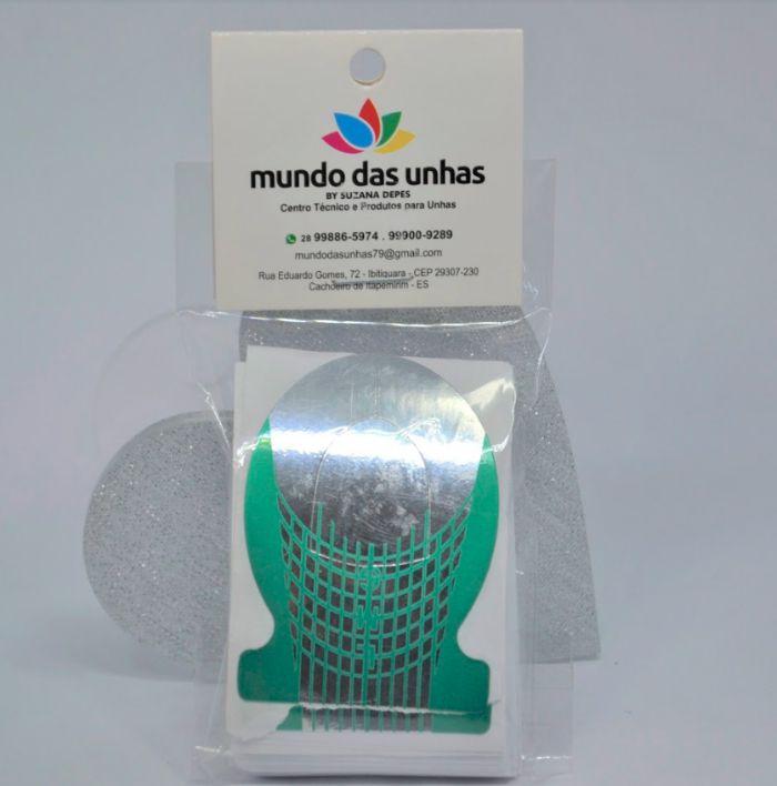 Molde Peixe 50un - Mundo das Unhas by Suzana Depes