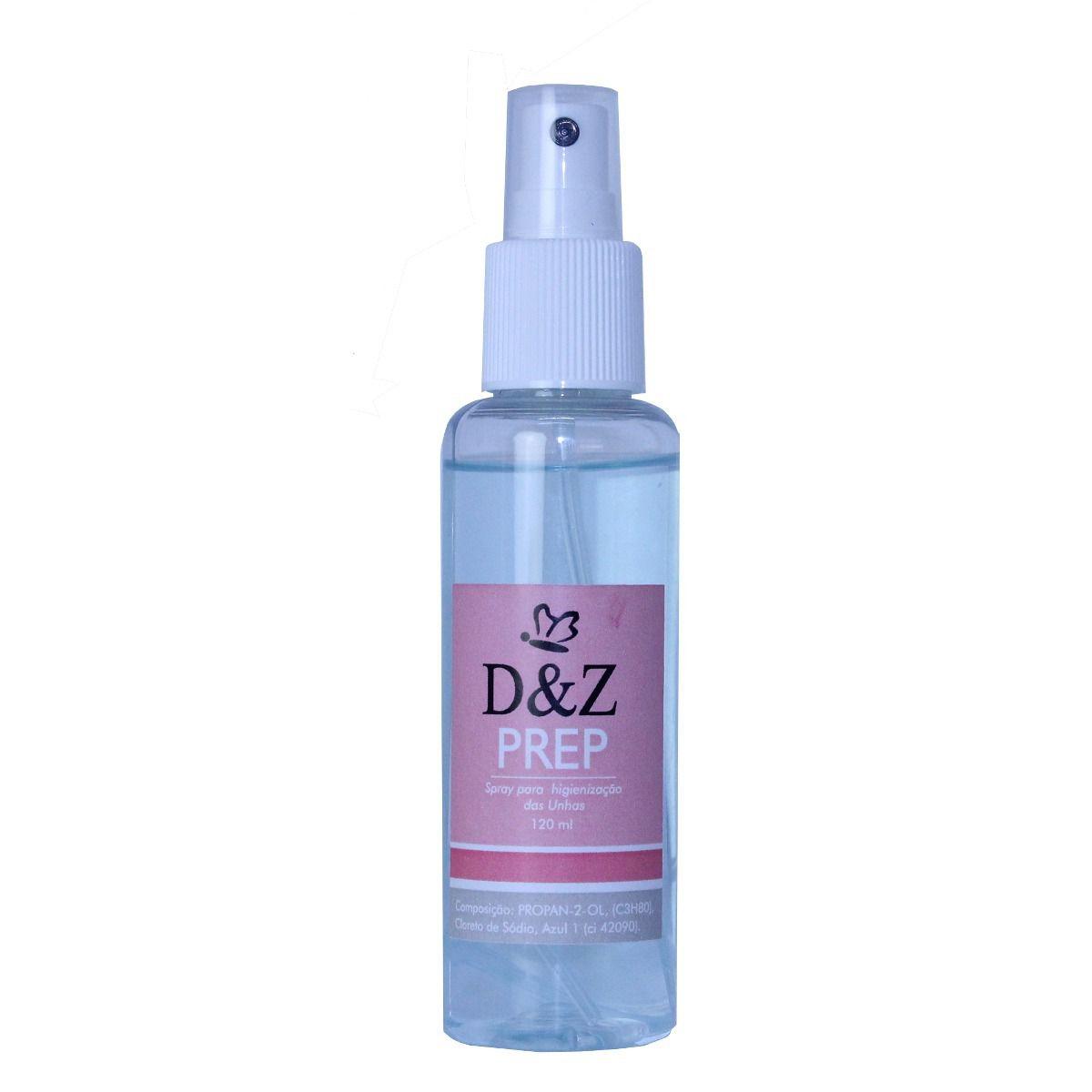 Prep Higienizador 120ml - D&Z