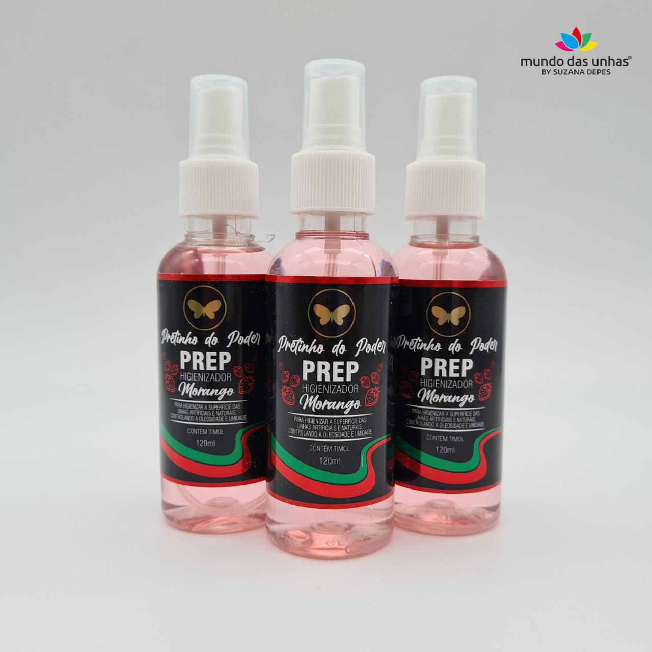 Prep Higienizador Pretinho do Poder - 120ml