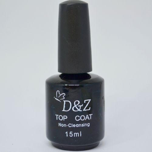 Selante Top Coat No-Cleansing Para Unhas 15ml - D&Z