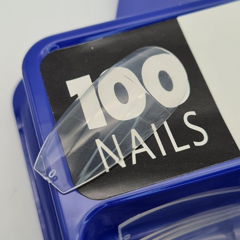 TIPS BAILARINA FAN NAILS - 100 UN