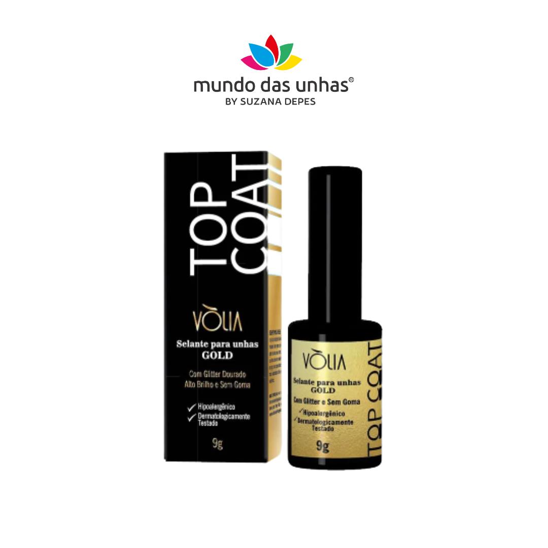 Top Coat Vólia Gold - 9g