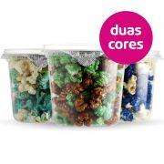 Pipoca Colorida - 2 cores - 350ml (Baby)