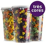 Pipoca Colorida - 3 cores - 770ml