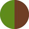 Verde e Marrom