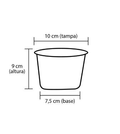 Pipoca Colorida - 1 cor - 350 ml (Baby)