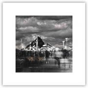 City Mountain Quadro decorativo em canvas
