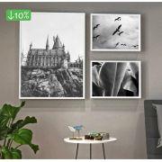 Coleção City & Jungle - Quadros decorativos em canvas