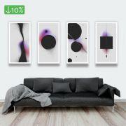 Coleção Cosmic - Quadros decorativos em canvas