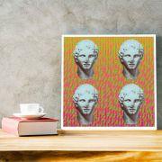 Coleção Deuses 18 - Quadro decorativo em canvas