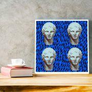 Coleção Deuses 7 - Quadro decorativo em canvas