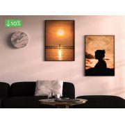 Coleção Pôr do sol - Quadros decorativos em canvas