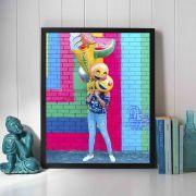 Colors - Quadro decorativo em canvas