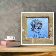 David - Quadro decorativo em canvas